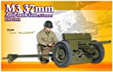 1/6 M3 37mm Anti-Tank Gun with Gunner Eto 1944,