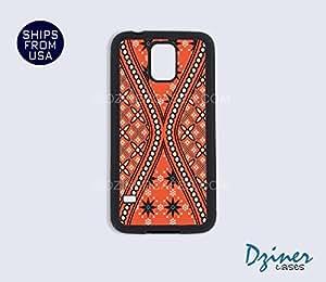 Galaxy S5 Case - Orange Batik