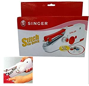 Nut Shop Quick Handy Held Sewing Machine Cordless Repair Singer Portable Stitch Sew Hand by SINGER