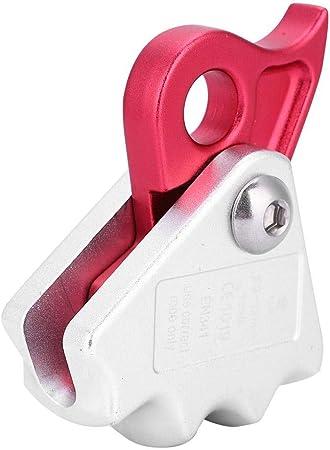 15KN Escalada Descender Aluminio 9-12mm Cuerda Rescate Descensor Rappel Anillo de Engranaje