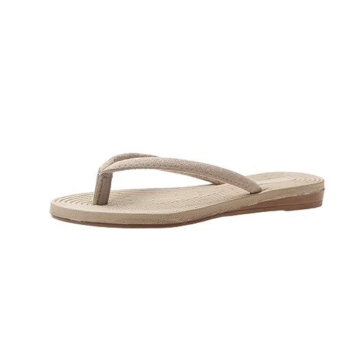 87dcbfa95b342 Amazon.com: {Minikoad}Women Beach Sandals,Ladies Flip-Flops Flat Toe ...