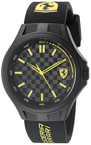 Ferrari-830286-Pit-Crew-Analog-Display-Quartz-Black-Watch