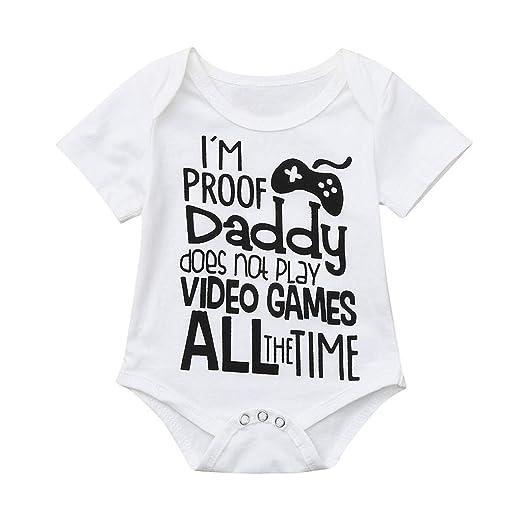 bec4c06bbf15 Amazon.com  Newborn Infant Baby Romper