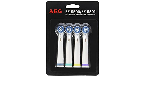 Amazon.com: AEG EZ 5501 Electric Toothbrush Brush Heads by AEG: Health & Personal Care