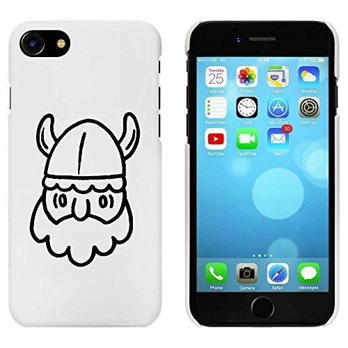 Blanc 'Tête Viking' étui / housse pour iPhone 7 (MC00081300)