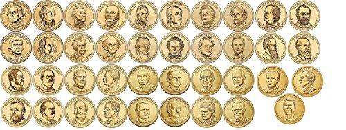 2007 P, D 2007-2016 Presidential Dollars 78 Coin Set in Full Color Littleton Coin Folder Uncirculated