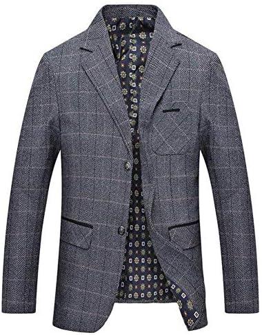 テーラードジャケット メンズ スーツ ジャケット 2つボタン ブレザー