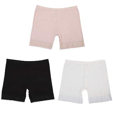 e03bdeee57455 Panty Coton Modal Legging Courts Sous-Vêtements Culotte Femme Pantalon  Respirant Lingerie sous Robe Shorts