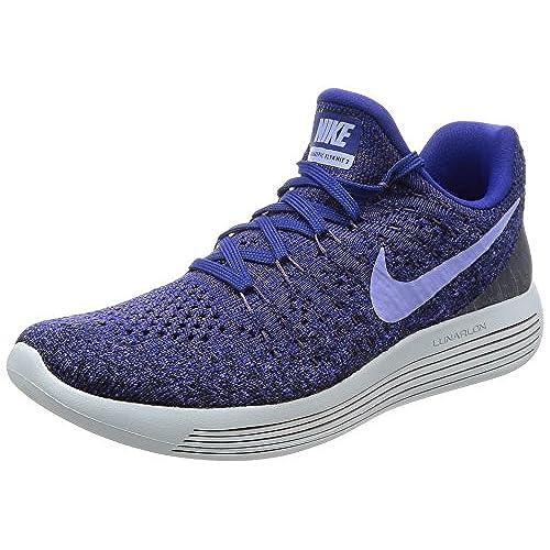 Nike Women's W Lunarepic Low Flyknit 2, DARK RAISINLIGHT