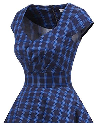 c80a793e786cf Bbonlinedress Women Short 1950s Retro Vintage Cocktail Party Swing Dresses