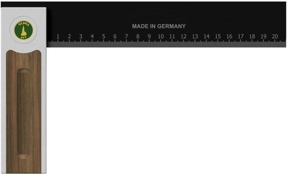 ULMIA /Équerre de pr/écision en aluminium de 250 mm avec pr/écision de mesure /± 0,02 mm