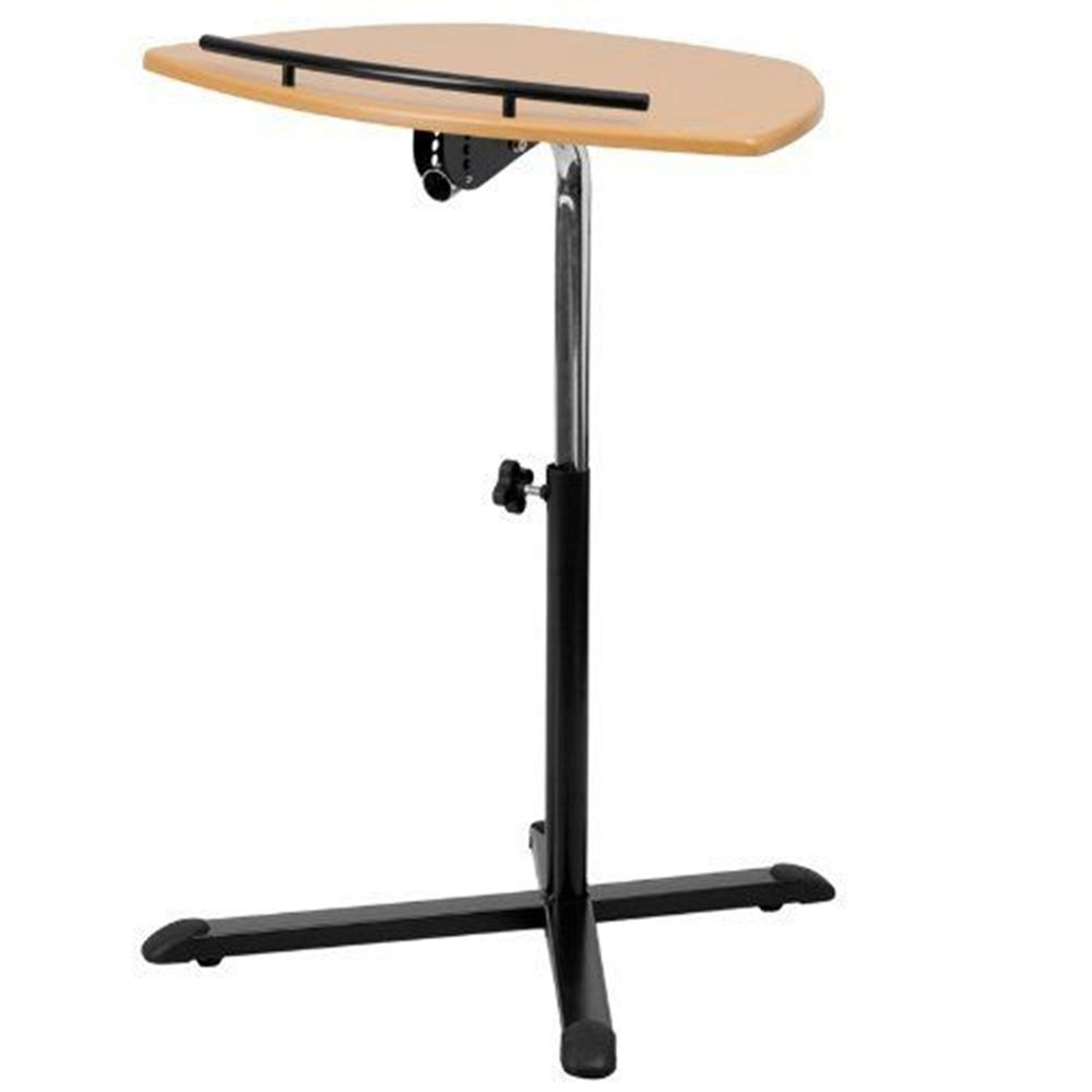 NEW expanding tray table Height Adjustable Natural Laptop Computer Desk