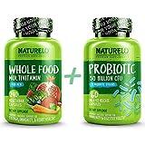 Bundle: Whole Food Multivitamin for Men + Probiotic