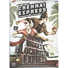 Chennai Express - India's Biggest Blockbuster Express - DVD (Hindi Movie / Bollywood Film / Indian Cinema) (2013)