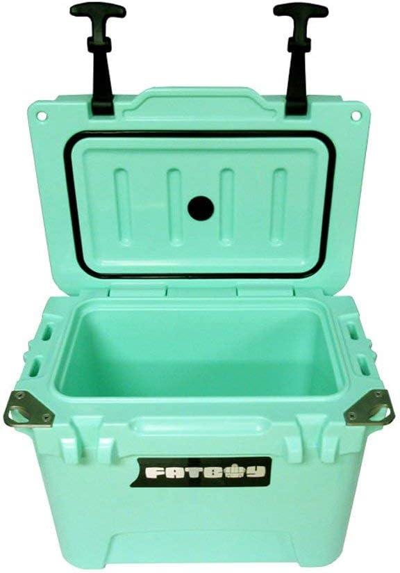 Fatboy 10QT Rotomolded Cooler Chest Ice Box Hard Lunch Box – Seafoam Green