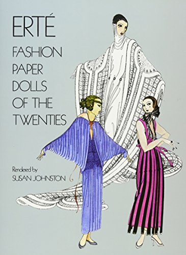 Erté Fashion Paper Dolls of the Twenties