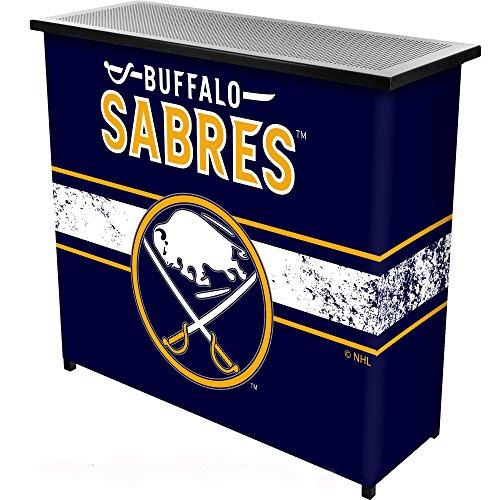 Buffalo Sabres Bar - Trademark Gameroom NHL Buffalo Sabres Portable Bar with Case
