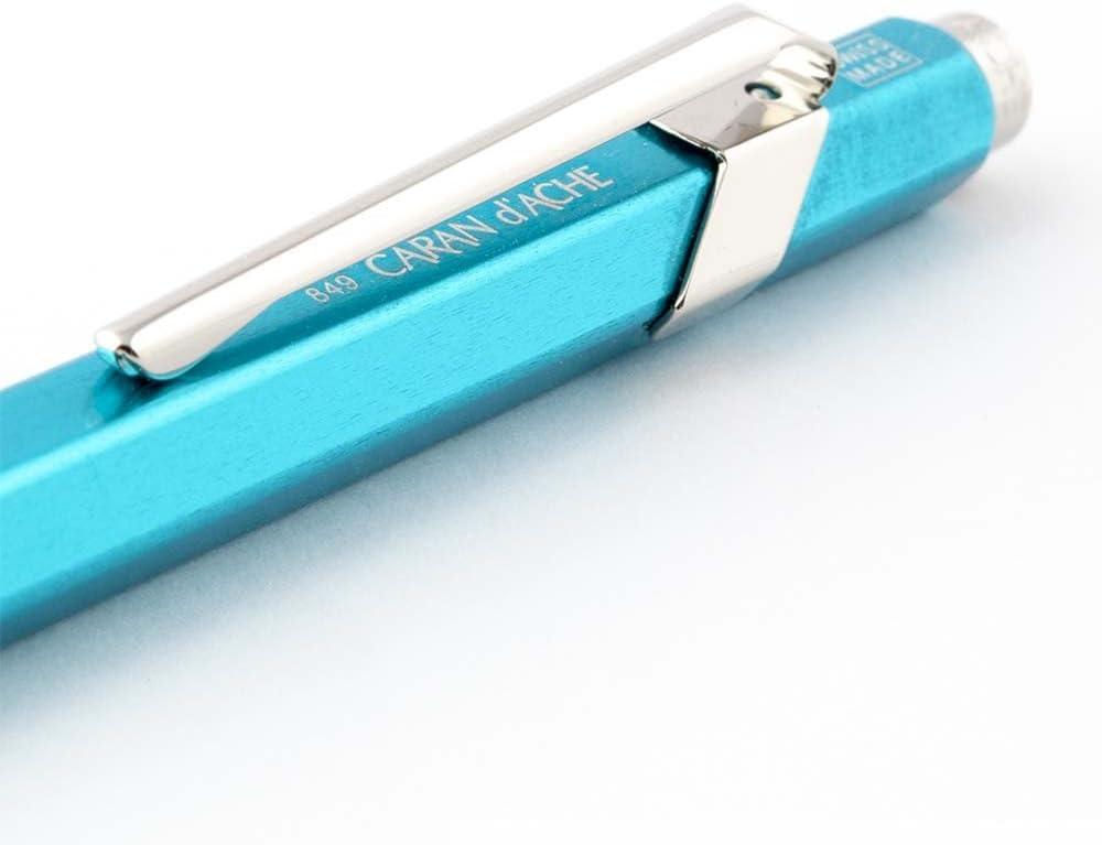 Caran dAche 849 Gift Line Pop Line Stylo-bille r/étractable Bleu