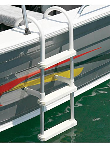 Oceansouth Aluminum Boarding Boat Ladder 4 Step