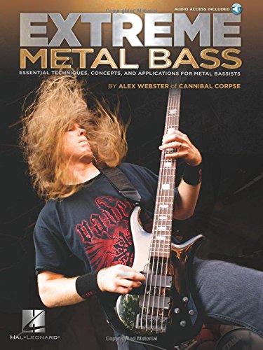 Alex Webster: Extreme Metal Bass (Book/Online Audio)