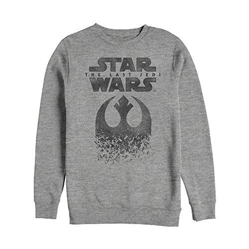 Fleck Jumper (Fifth Sun Star Wars The Last Jedi Rebel Logo Fleck Mens Graphic Sweatshirt)