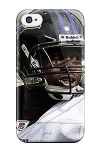Premium Durable Baltimoreavens Fashion Tpu Iphone 4/4s Protective Case Cover
