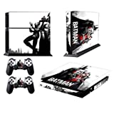 MightyStickers PS4 Console Designer Protective Vinyl Skin Decal Cover for Sony PlayStation 4 & Remote DualShock 4 Wireless Controller Stickers - Superheroes Batman and Catwoman