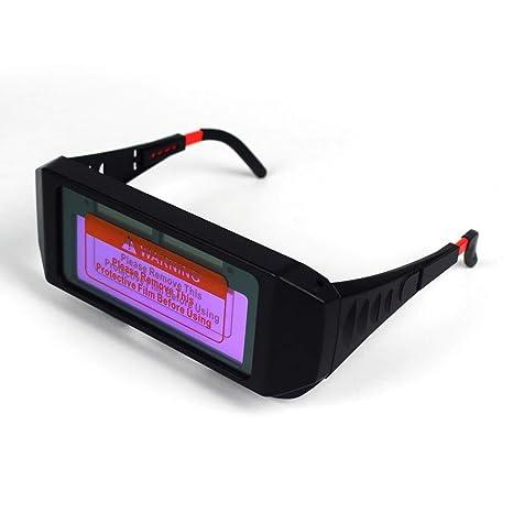 e197fbe3 1 Pair Solar Auto Darkening Welding Goggle, Safety: Amazon.in: Electronics