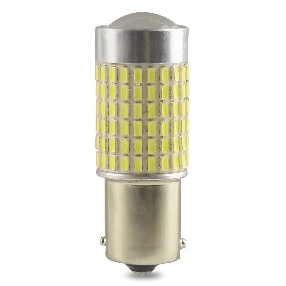 Safego 4X C5W LED 36mm 12 SMD 4014 6411 6418 1.5 DC 12V 3W Bombilla Festoon Interior del Coche Xen/ón Blanco 6000k