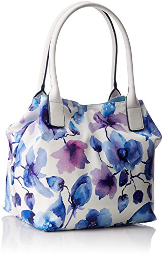 Borse Blau Donna Tailor Tote Blu Miri Flora Tom qvfnxZRg