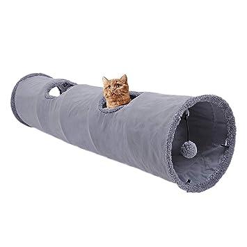 Makrone Katzentunnel Rascheltunnel Aus Baumwolle Für Katzen Katzen