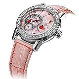 Women's Crystal Bloom Swarovski Crystals Watch (Pink)