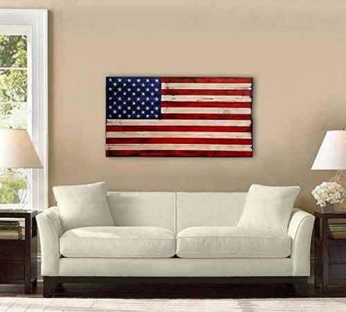Large Distressed American Flag