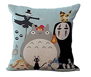 Amazon.com: HomeTaste Cute Totoro - Funda de almohada de ...
