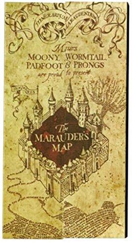 Harry Potter Marauder's Map Notepad