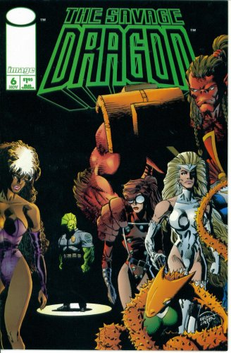 The Savage Dragon #6 (Image Comics) (Six Venom Savage)