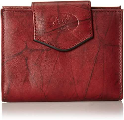 Buxton Heiress Cardex Wallet, Mahogany, One Size