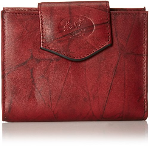 Buxton Heiress Cardex Wallet, Burgundy, One - Buxton Ladies Wallets