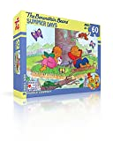New York Puzzle Company - Berenstain Summer Days - 60 Piece Jigsaw Puzzle