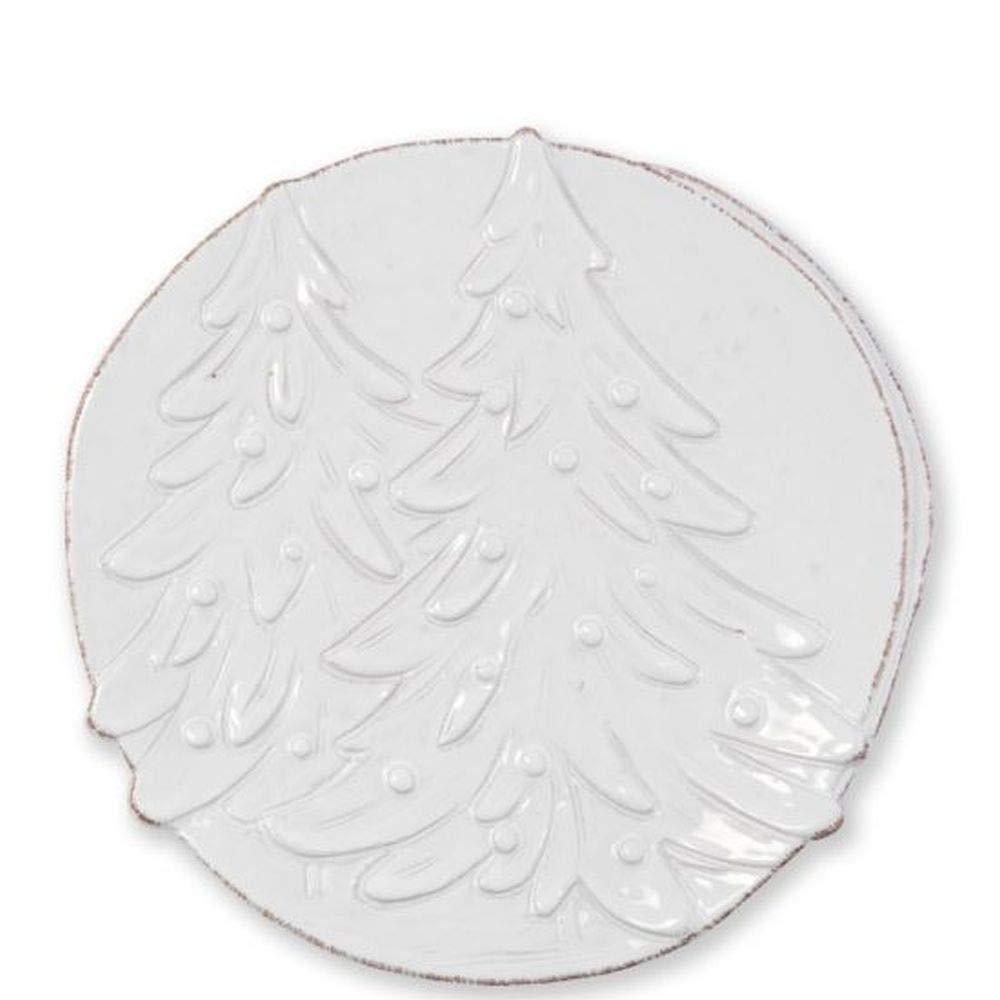 Vietri Lastra Winterland Round Platter PartialUpdate