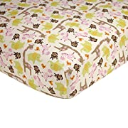 Carter's Jungle Collection Fitted Crib Sheet