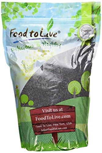 Food to Live Poppy Seeds (Australia) (4 Pounds) (Poppy Foods Seeds)