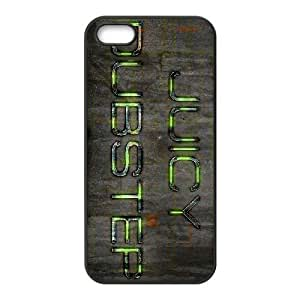 juicy dubstep iPhone 5 5s Cell Phone Case Black 91INA91308726