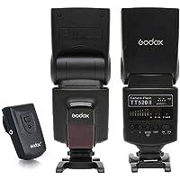 SHOPEE Godox Camera Flash TT520II with Build-in 433MHz Wireless Signal for Canon Nikon Pentax Olympus DSLR Cameras