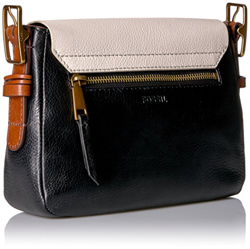 Fossil Harper Small Crossbody, White/Black by Fossil (Image #2)