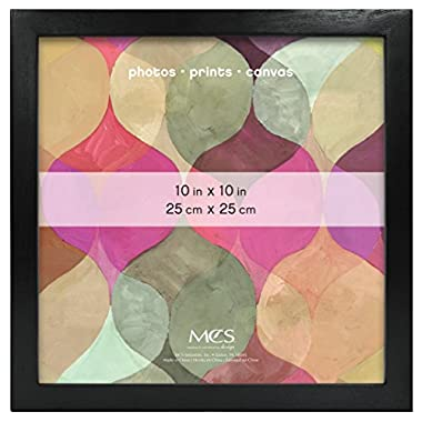 MCS Art Frame, 10 by 10-Inch, Black (47560)