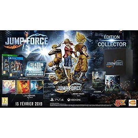 Jump Force - Collectors Edition, Playstation 4: Amazon.es ...