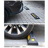 uyoyous 2 Pack Heavy Duty Rubber Parking Blocks