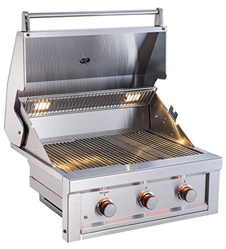 "SUNSTONE RUBY3B-NG 3 Burner Pro-Sear Natural Gas, 30"" SUNSTONE"