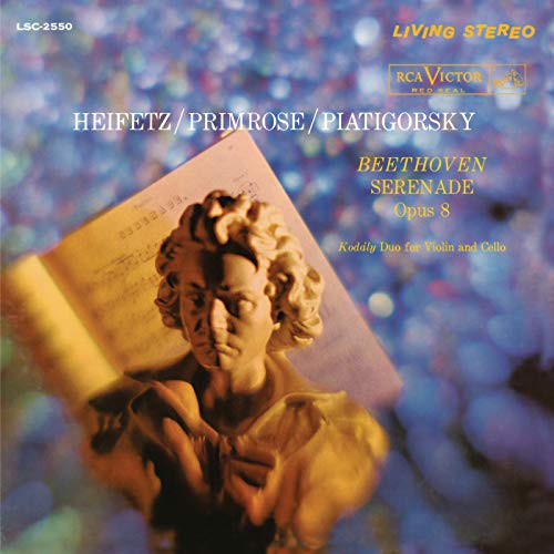 Beethoven: Serenade in D Major, Op. 8 & Kodály: Duo for Violin and Cello, Op. 7 ()